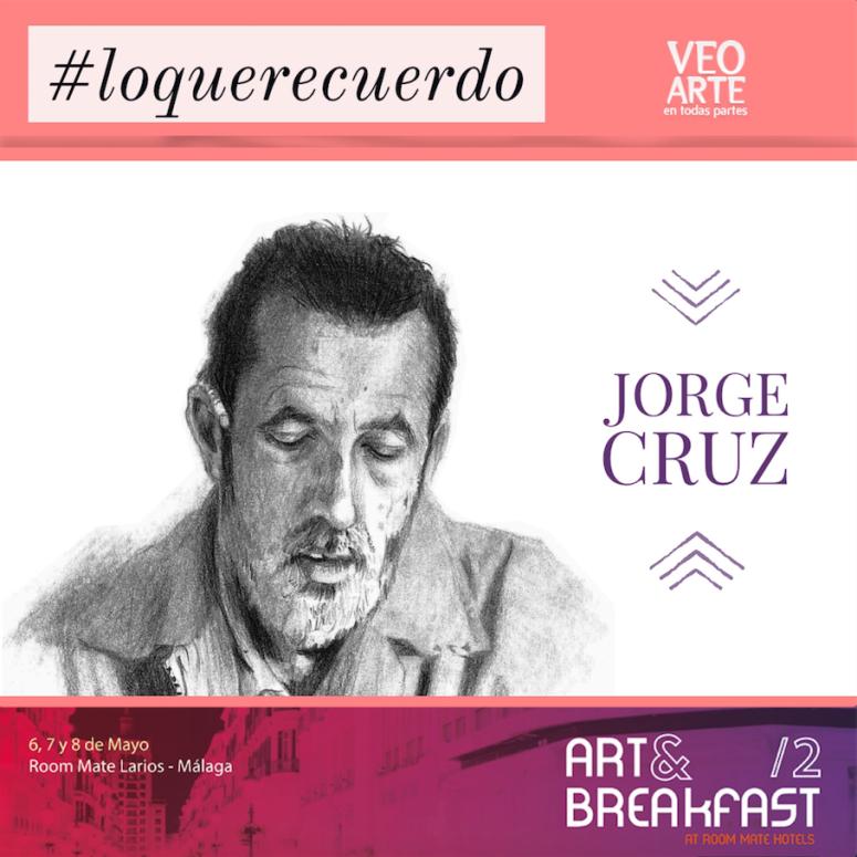 Jorge Cruz - artandbreakfast - veoarte